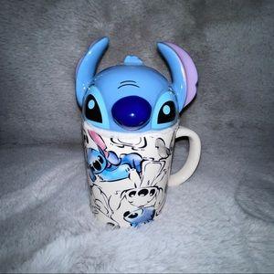 Disney Lilo & Stitch Figural Peek-a-Boo Mug w/Lid